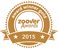 Zoover Award Winner Gold 2015
